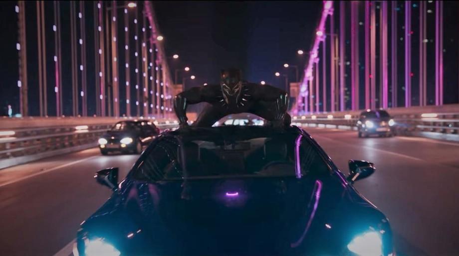 Black Panther car chase, Korea