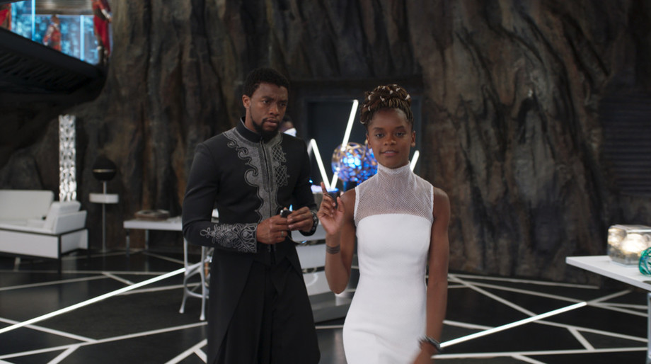 Black Panther, T'Challa and Shuri