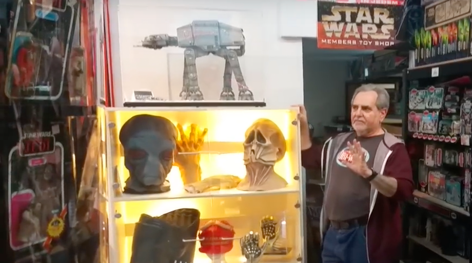 Star Wars collector Steve Sansweet of Rancho Obi-Wan