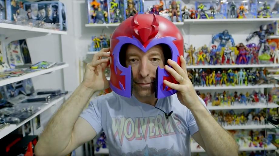 X-Men collector Eric Jaskolka