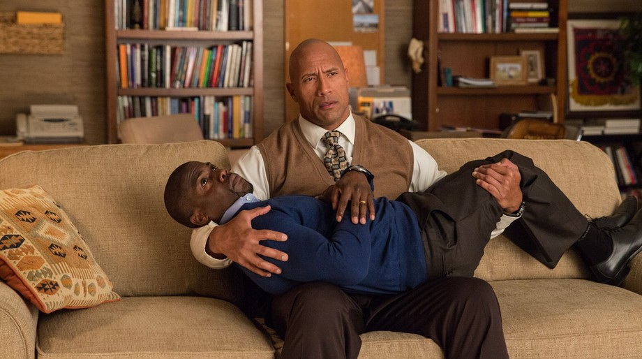 Central Intelligence, The Rock, Kevin Hart