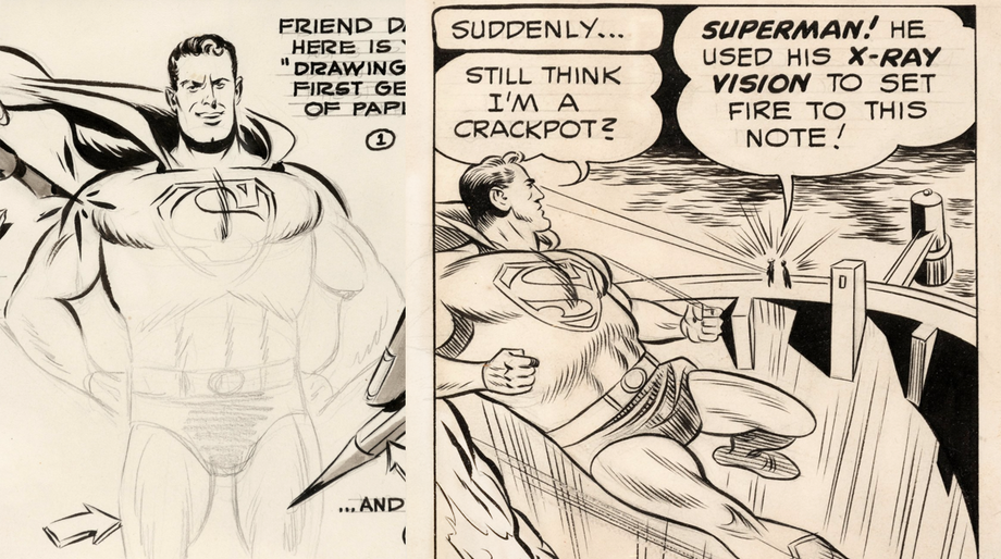Wayne Boring Superman art