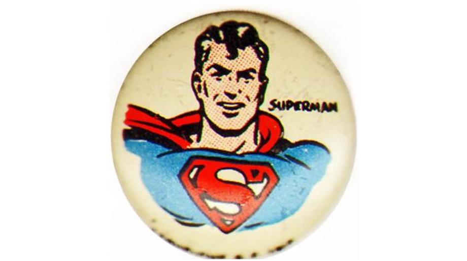 Superman button