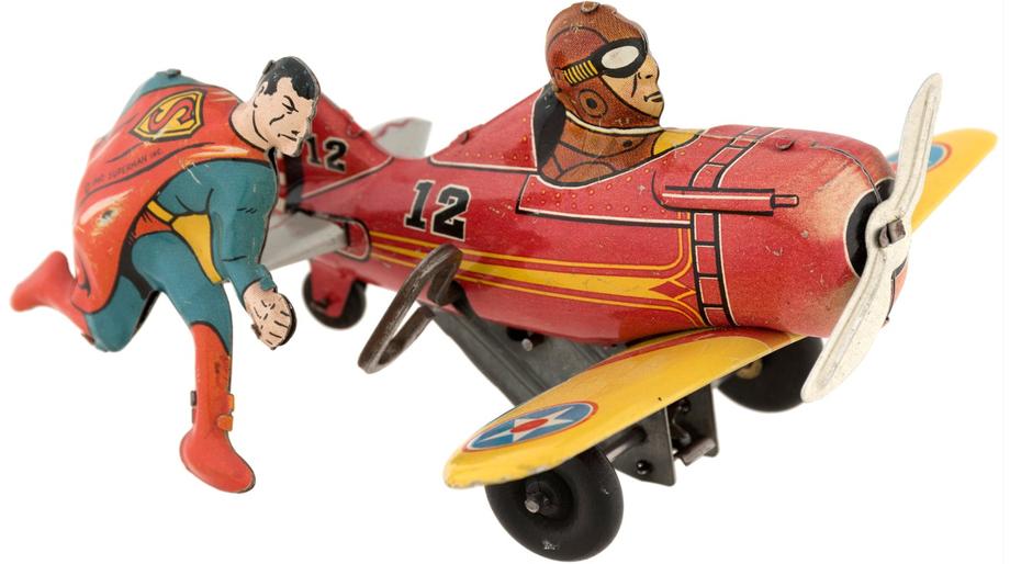 Superman plane toy