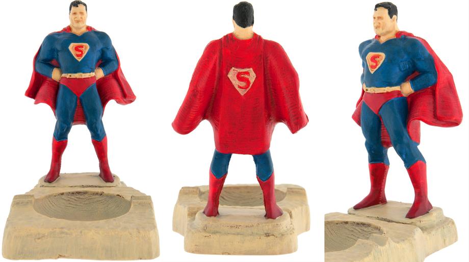 Superman ashtray