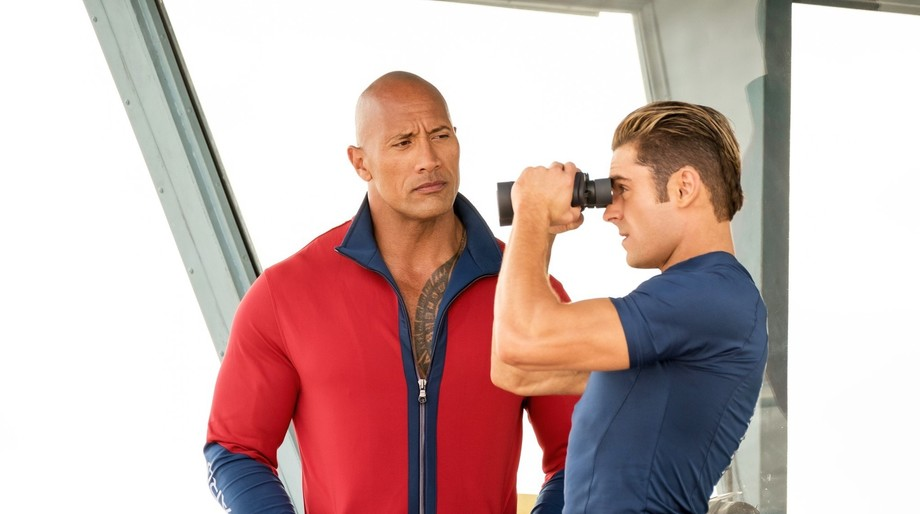 The Rock, Zac Efron, Bawatch