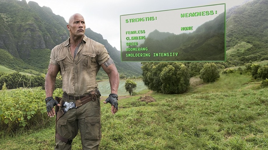 The Rock, Jumanji