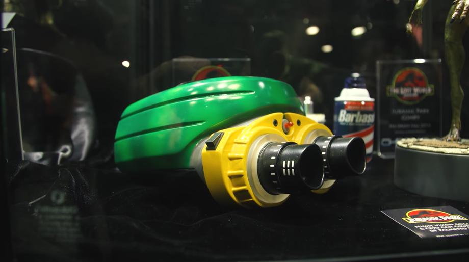 Jurassic Park night vision goggles