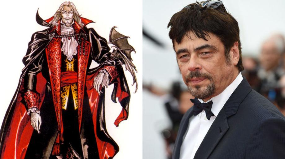 Benicio Del Toro as Dracula