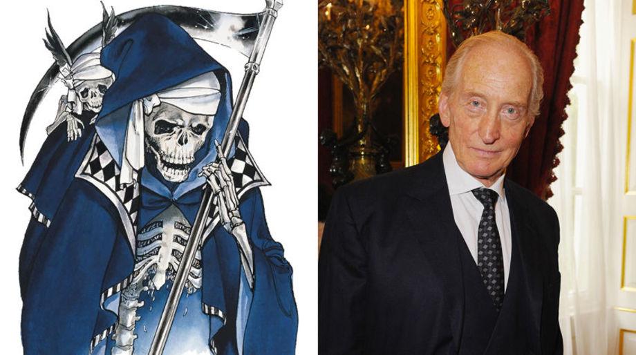 Charles Dance as Death