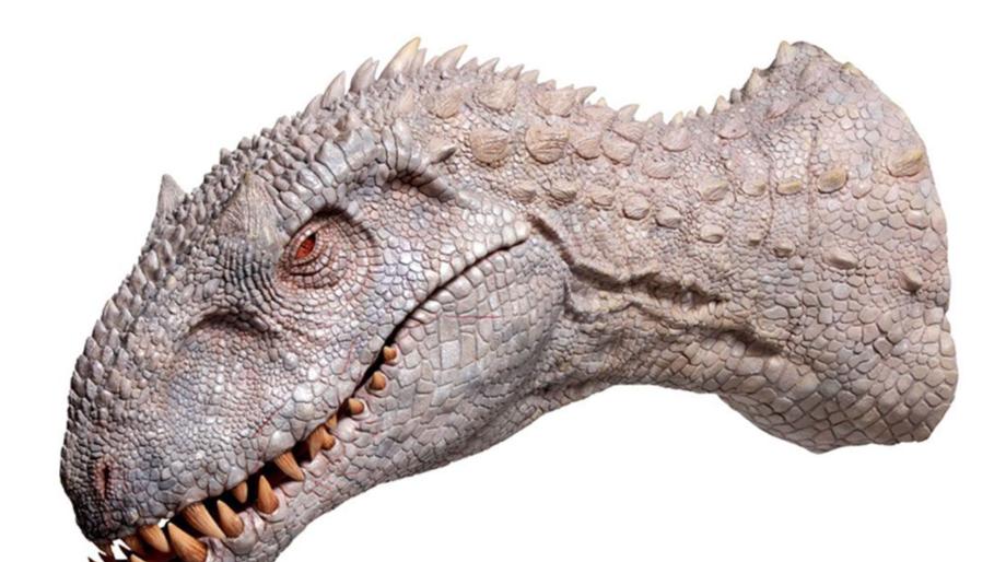 Jurassic World Indominus Rex head
