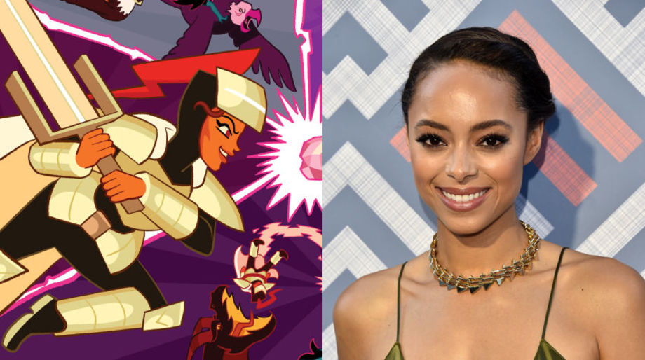 Amber Stevens West as the Knight