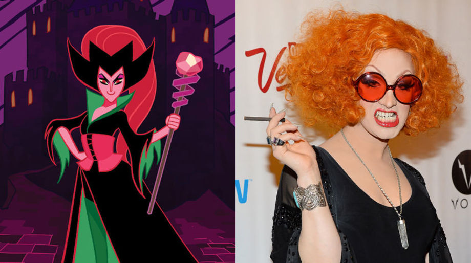 Jinkx Monsoon as the Sorceress