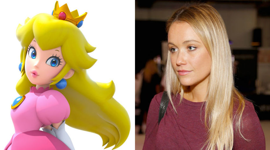 Katrina Bowden as Princess Peach