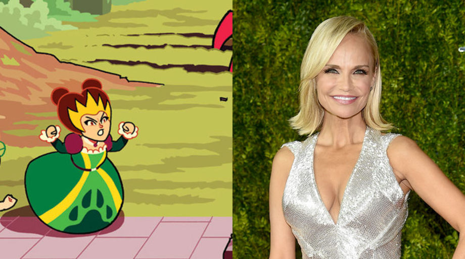 Kristin Chenoweth as the Animal Queen