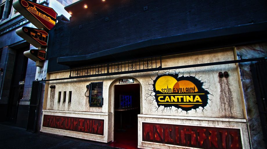Geek Bars: Scum and Villainy Cantina, LA, California