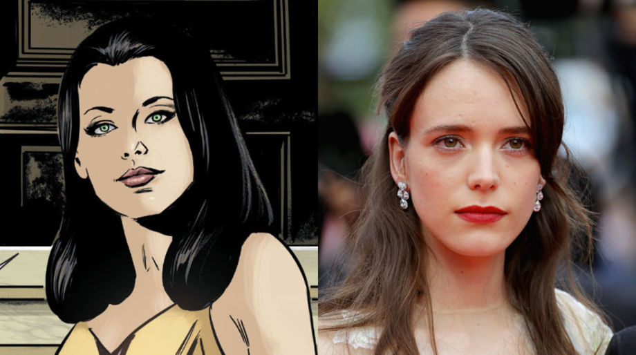 Stacy Martin as Younger