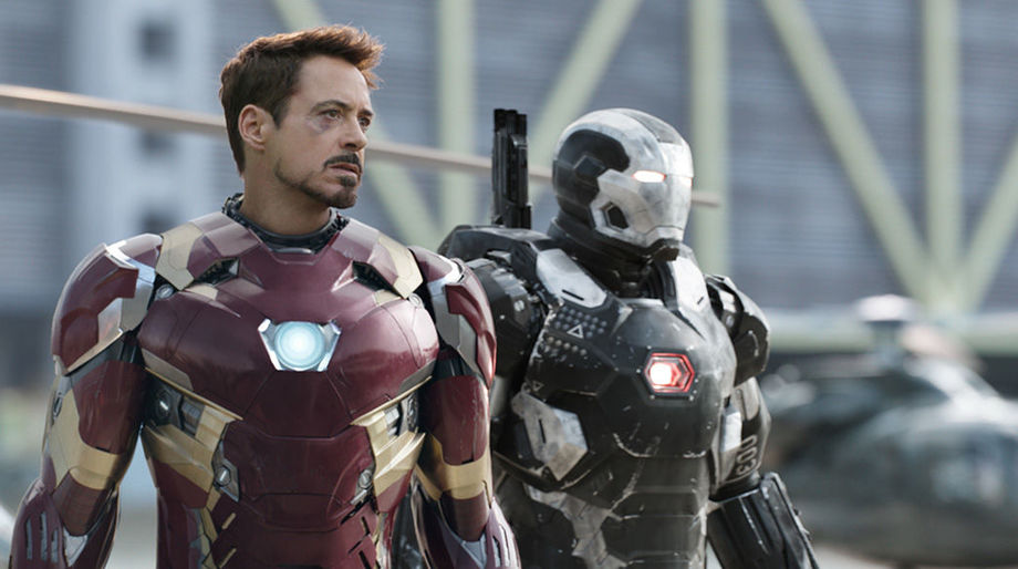 Tony Stark Lines Anybody On Our Side