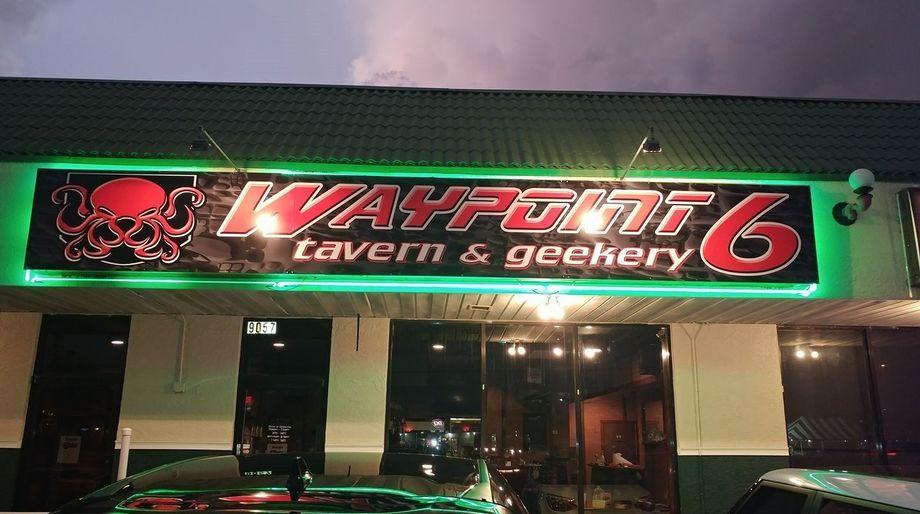Geek Bars: Waypoint 6, Tampa Bay, Florida