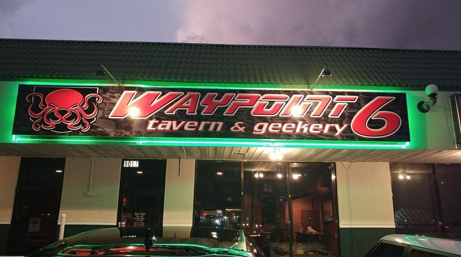 Geek Bars: Waypoint 6, Tampa Bay, Florida