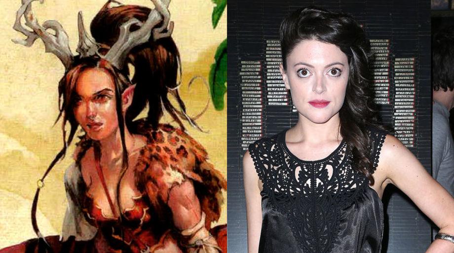 Hannah Fierman as a Wild Druid