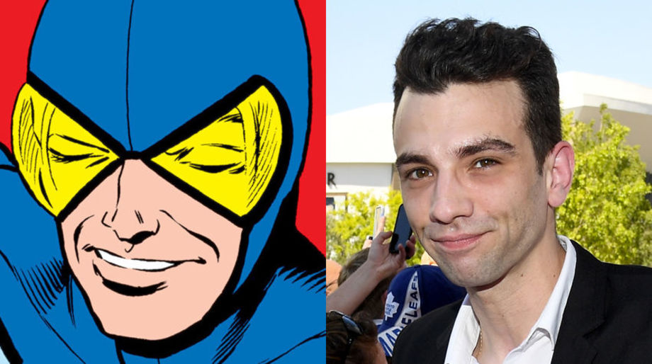 Jay Baruchel as the Blue Beetle