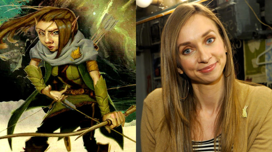 Lauren Lapkus as a Gnome Ranger