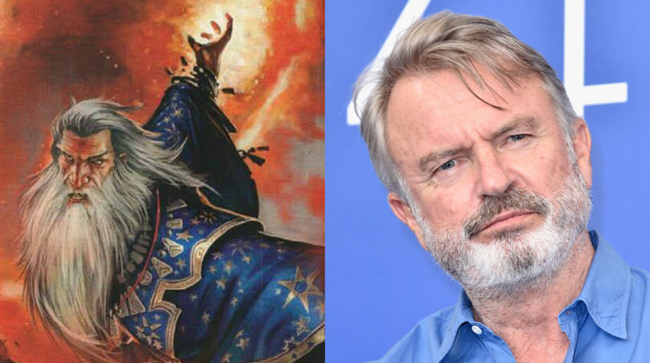 Sam Neill as an Evil Wizard