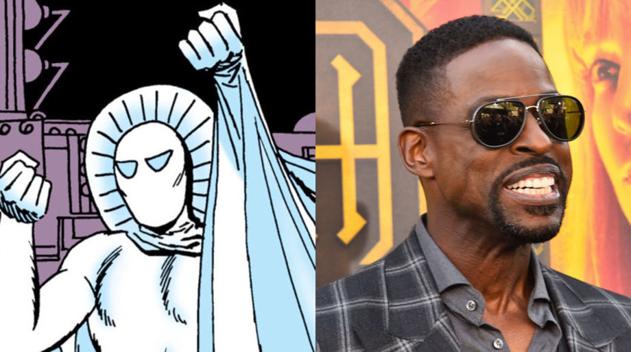 Sterling K. Brown as the Ghost