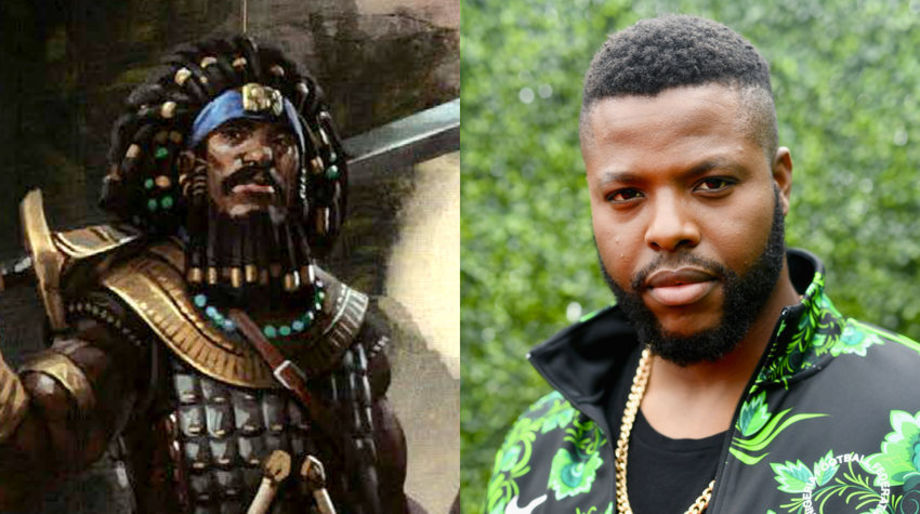 Winston Duke as a Human Fighter