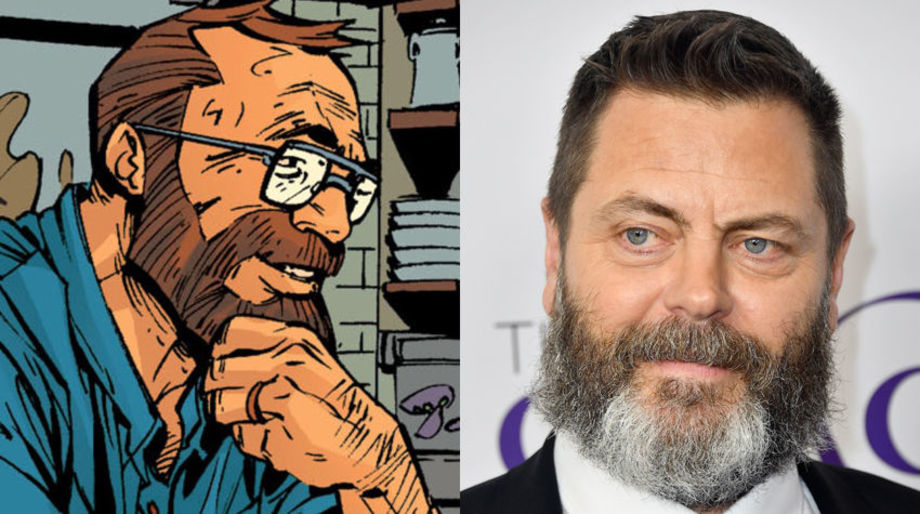 Nick Offerman as Kara's Dad