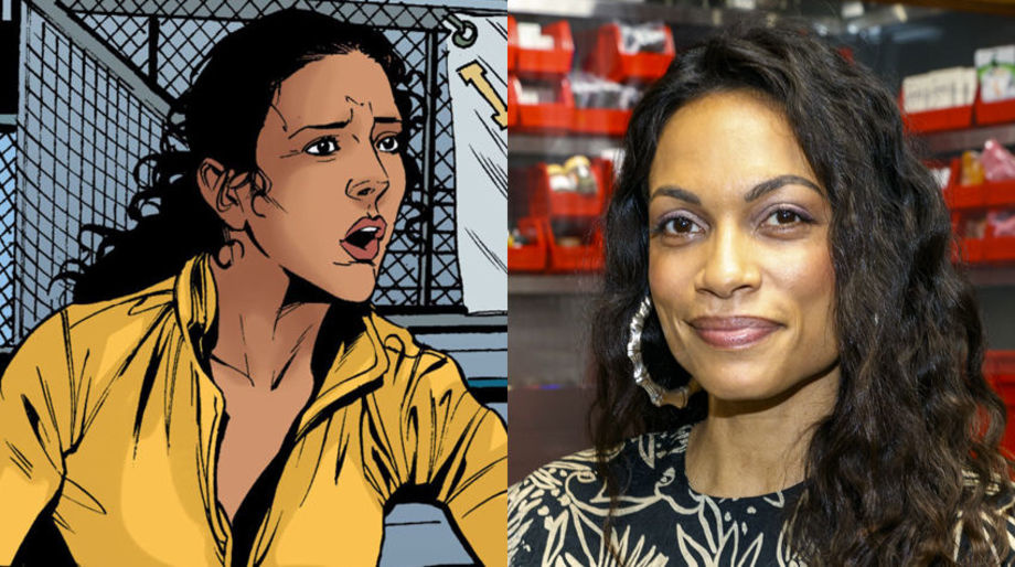 Rosario Dawson as Coach Stone