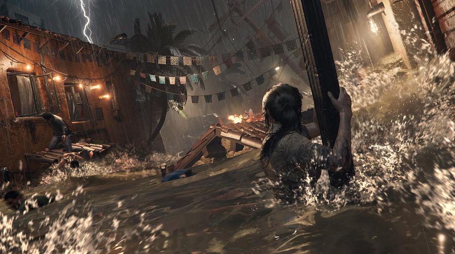 Shadow of the Tomb Raider - Lara Cautious