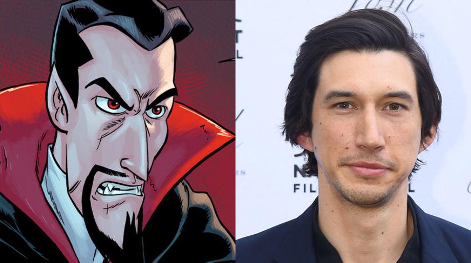 Adam Driver as Dracula