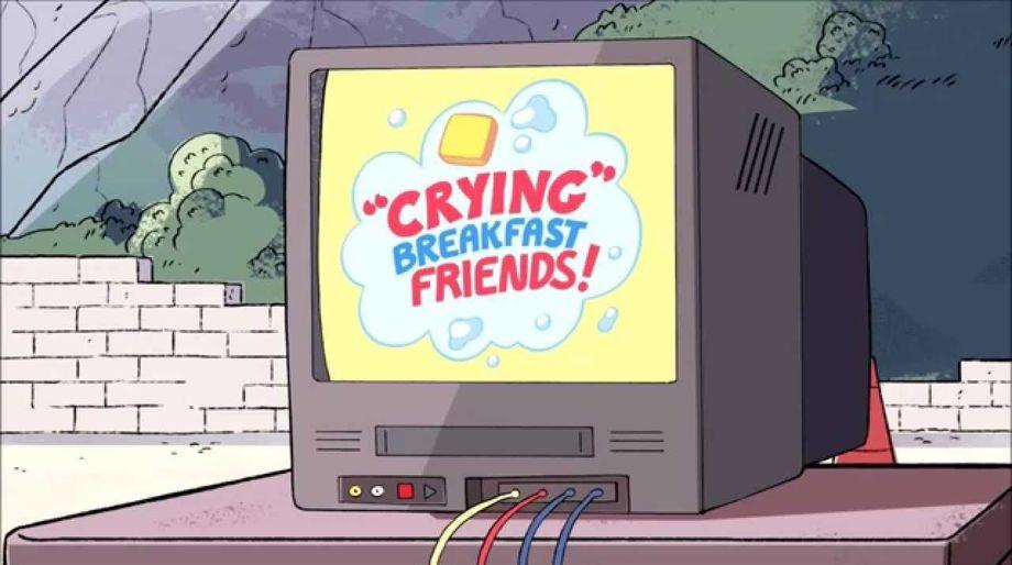 CryingBreakfastFriends