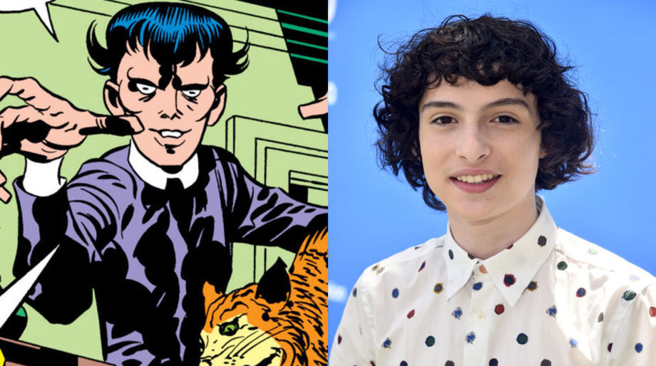 Finn Wolfhard as Klarion the Witch Boy