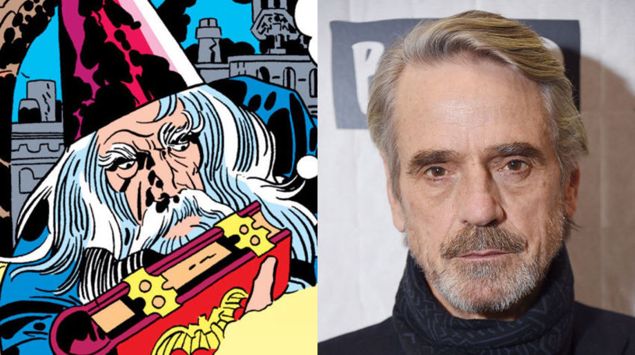 Jeremy Irons as Merlin