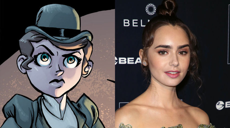 Lily Collins as Thalia