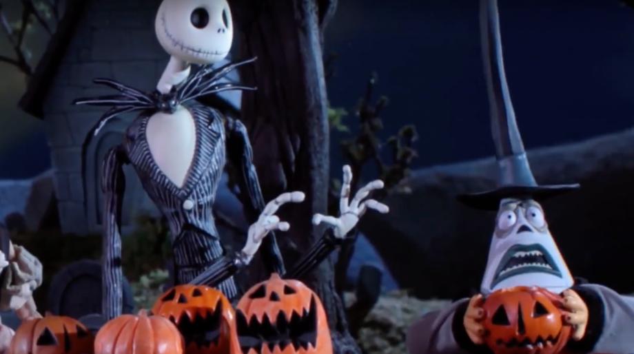 The Nightmare Before Christmas x Robot Chicken mashup