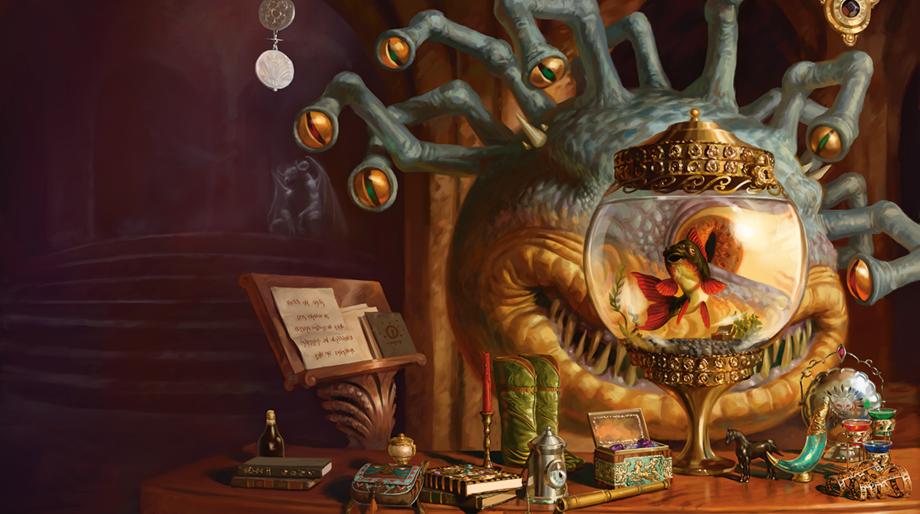Xanathar - beholder - Dungeons & Dragons