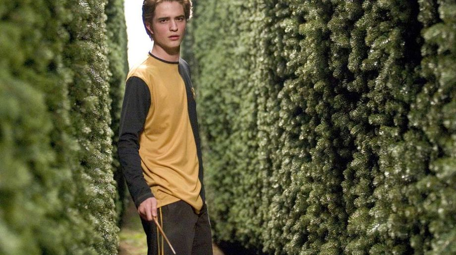 Cedric Diggory with wand