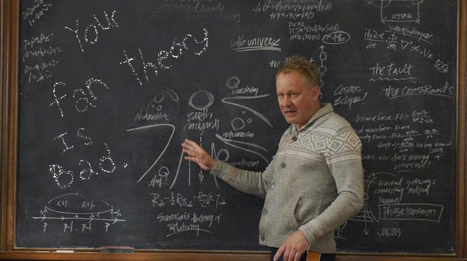 Erik Selvig's bad theory