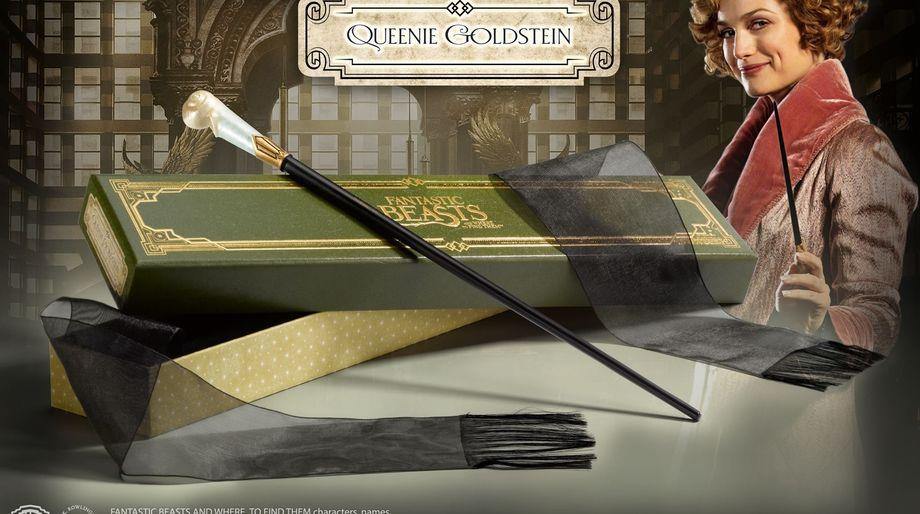 Queenie Goldstein Fantastic Beasts wand Harry Potter