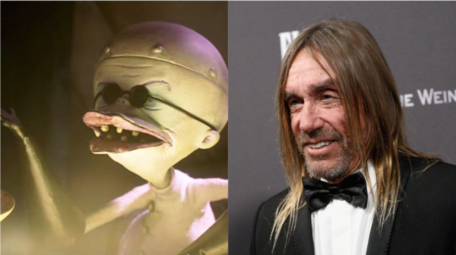 Iggy Pop as the Evil Scientist