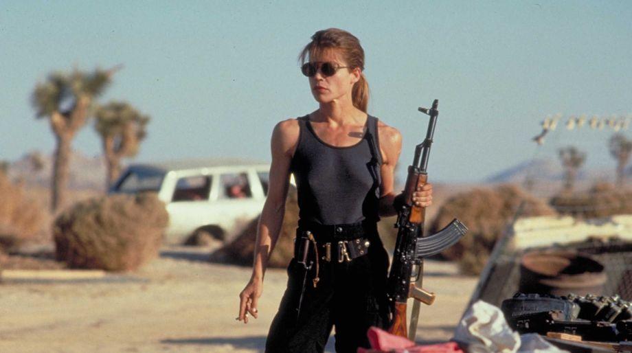 Linda Hamilton, Sarah Connor, The Terminator