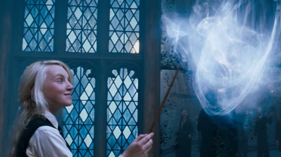 Luna Lovegood Harry Potter wand