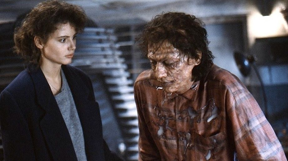 The Fly — Geena Davis, Jeff Goldblum