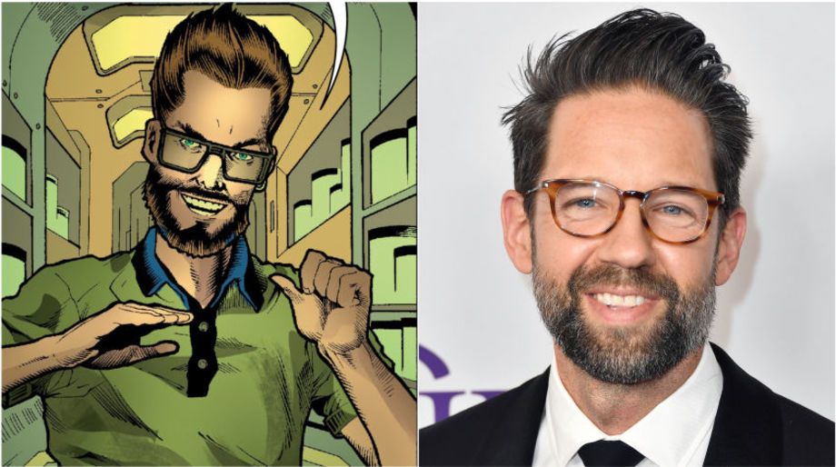 Todd Grinnell as Doctor Clive