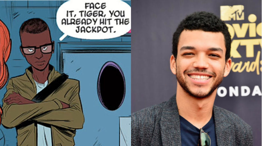Justice Smith as Randy Robertson