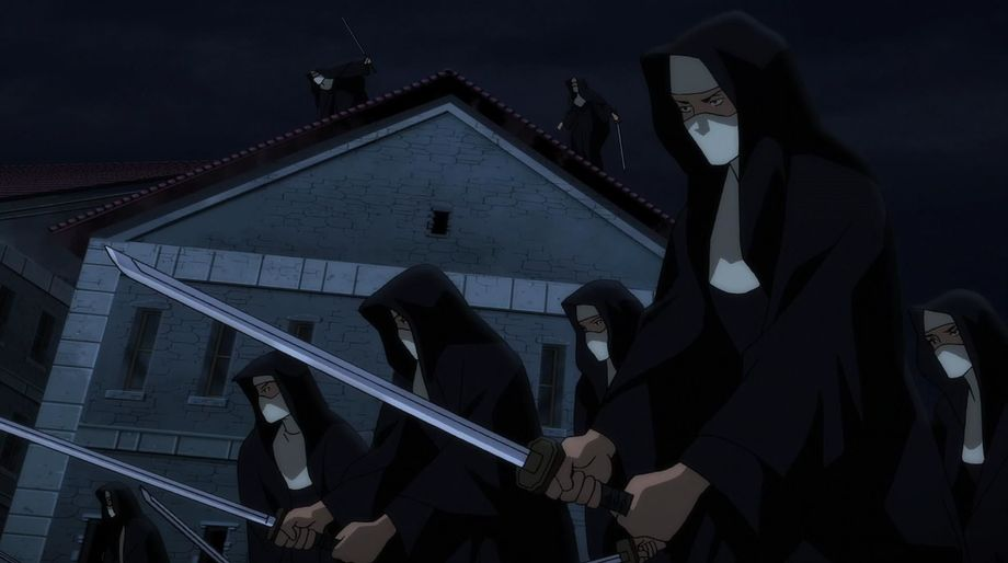 Ninja Nuns, Batman-Bad Blood